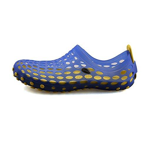 iLory Herren Badeschuhe Aqua Schuhe Surfschuhe Blau