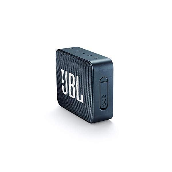 JBL Go 2 - Mini enceinte Bluetooth Portable - Étanche pour Piscine & Plage Ipx7 - Autonomie 5hrs - Qualité Audio JBL - Bleu Foncé 3