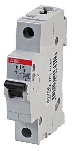 ABB S201-B16 MCB Fusible autom/ático compacto Pack de 10 piezas