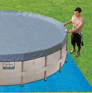 """ProSeries 14 X 42"""" Ultra Frame Swimming Pool with Deluxe Kit"""