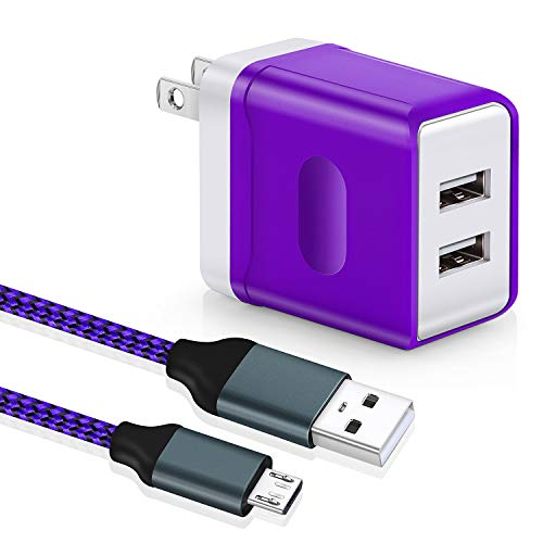 Android Aupek Charging Compatible 6 Purple