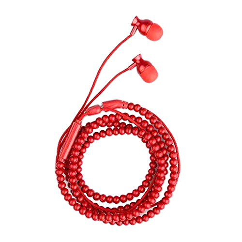 - Smdoxi Running Headphones In Ear Noise Isolating Sweatproof Sport Earbuds Earphones with Remote and Mic Earhook Wired Stereo Workout Ear Buds for Jogging Gym for iPhone Samsung Galaxy (Red)