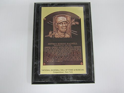 Jeff Bagwell Hall of Fame Induction Postcard Plaque NEW!!