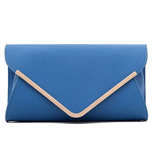 Pairs D - Bolso mochila  para mujer azul azul