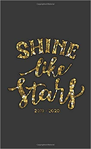 Shine Like Stars 2019-2020: Two Year Monthly Pocket Planner ...