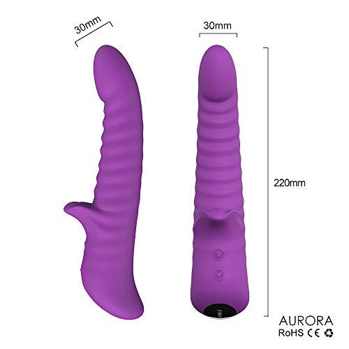 Price comparison product image Oral Cl-t Ví-bratórs Intimate Adult Sexxs Toys for Women Waterproof Triple Cl-toris Stimulator Ví-bratór 10 Speeds G Spot Ví-bratór T Shirt