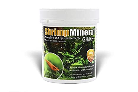 SaltyShrimp Camarón Mineral GH/KH + - 200 g: Amazon.es: Productos para mascotas