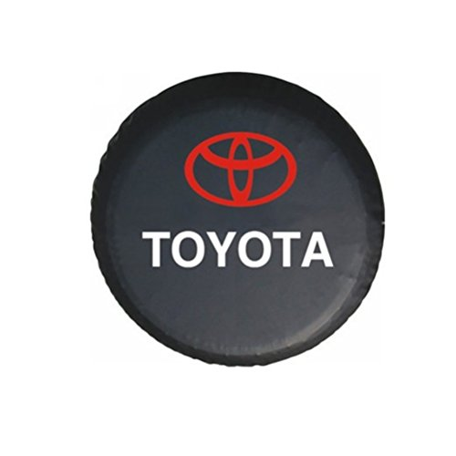 Bobbycool PVC Car Spare Wheel Cover Spare Tire Cover 14 Inch For SUV TOYOTA RAV4