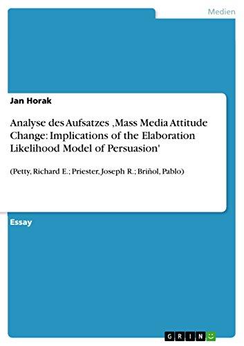 elaboration likelihood model - 2