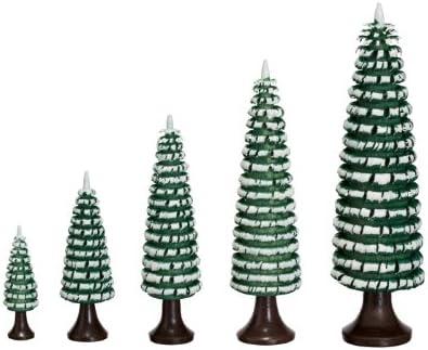 Ringelbaum grün// weiß Holzbaum H= 6cm NEU Baum Dekoration Seiffen Erzgebirge