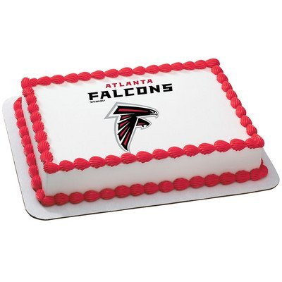 Amazon Atlanta Falcons Licensed Edible Cake Topper 4583 Toys