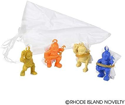 Mini Ninja Warrior Paratroopers (4 dz) [Toy]