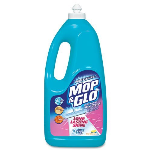 (Triple Action Floor Cleaner, Fresh Citrus Scent, 64Oz Bottles, 6/Carto by Professional Mop and Glo)