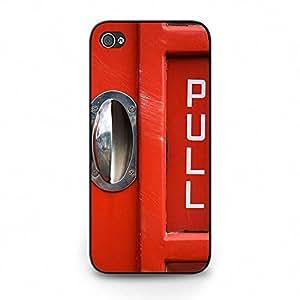 Personalized Custom British Phone Booth Phone Case Cover for Iphone 5c British Phone Booth London Hot Cool Design
