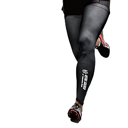 Vital Salveo - Recovery Compression Outdoot Full Length Leg Sleeves(Pair)-Small by Vital Salveo