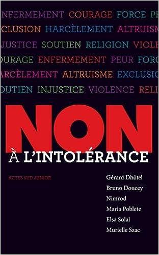Téléchargements complets de livres Non à l'intolérance PDF RTF by