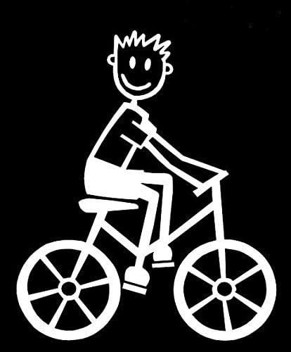 My Stick Figure Family Familie Autoaufkleber Aufkleber Sticker Decal Mit Vater Radsport Fahrrad M17 Auto