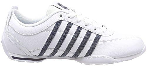 Uomo Bianco white 5 Sneaker white K Denim swiss Arvee dark 162 1 6xwfc7XRq