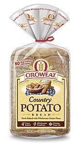Oroweat Sliced Bread 24oz Loaf (Pack of 2) Choose Flavor Below (Country - Potato)