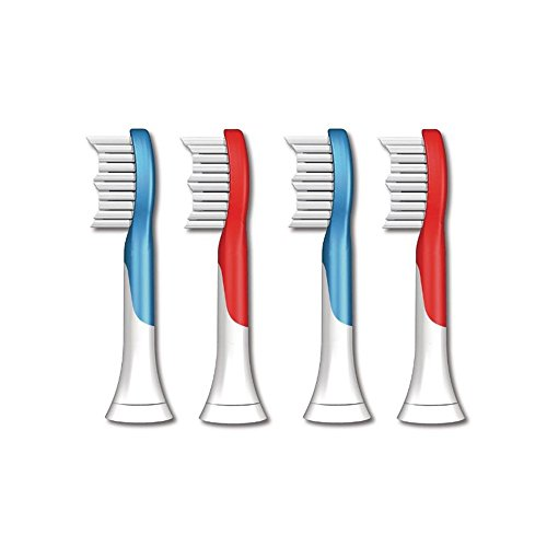 Price comparison product image Genkent Replacement Toothbrush Heads For Philips Sonicare Kid's Toothbrush HX6044 HX6042