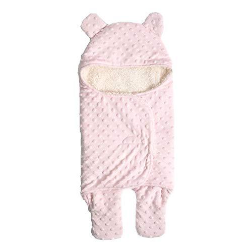 FOONEE - Manta para bebé, con diseño de Oso y Oreja, Transpirable de 0 a 6 Meses, Suave y cálida para baño, Aire...