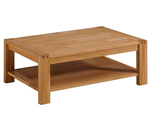 Parisot 0603TABA Ethan Solid Oak Coffee Table