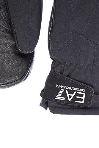 Emporio Armani EA7 guanti uomo mount nero
