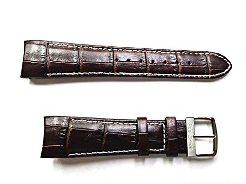 59-S51439 ORIGINAL GENUINE Citizen Chandler BROWN Leather Watch Band for Men's Eco-Drive Chronograph Watch AT0550-11X Same as Part # 59-S51611