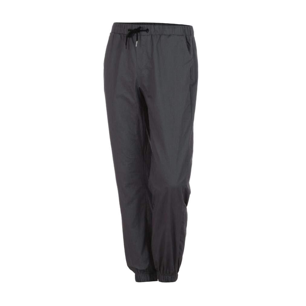 ♚ Pantalones de Hombre Otoño Invierno,Casual Tether Elastic Design Pantalones de chándal elásticos de sujeción Casual para Hombres Absolute: Amazon.es: ...