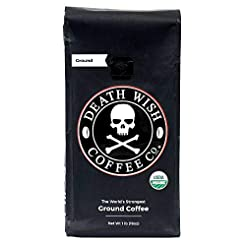 Death Wish Ground Coffee, The World's St...