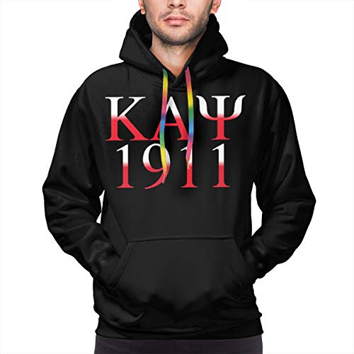 Kappa Alpha Psi Halloween Party (Kappa Alpha Psi Logo Hoodies Men Men's Casual Solid Color Hooded Sweatshirts)