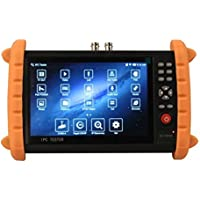 GXA 700SACT CCTV Tester for HD IP/AHD /CVI/TVI/ Analog Cameras, 1080P, PTZ control,PoE 48V/24W DC12V/2A Power Out,Network Cable Tester,Audio-In+Out,Rechargeable Battery,WIFI,DC5V for phone/Camera