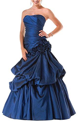 BRIDE Vollbusigere Koenigsblau Taft GEORGE Luxurioeses Abendkleid Abhol 8IpdSOq