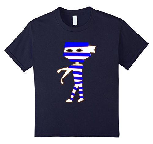 Kids Funny Halloween costume idea T-shirt 12 Navy