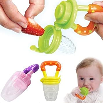 Amazon.com : Solid Baby Food Teether Soother Chupetes ...