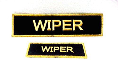 Atlantic Maritime -Marine Vintage Aquatic Ship ''WIPER'' Name Tapes from Atlantic