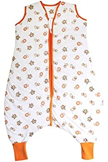Slumbersac Muslin Sleeping Bag with Feet Approx. 0.5 Tog - Zoo Animal- 18-