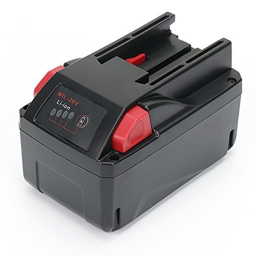 Replace Milwaukee 48-11-2830 M28 Lithium Ion Battery Pack 28V 3.0Ah for Milwaukee 28 Volt Cordless Power Tools 0719-20 0721-20 0725-20 0729-20 0756-20 by Reexbon -