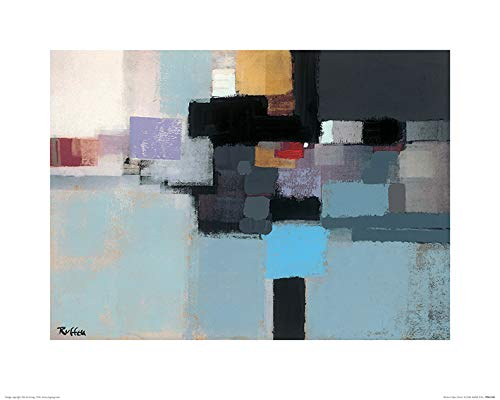 40 x 50 x 1.3 cm -Art Print 40 x 50cm Paper Abstract Opus Eleven Art Group The Colin Ruffell Multicoloured