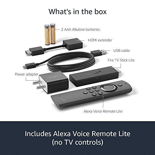 All-new Fire TV Stick Lite with Alexa Voice Remote Lite | Stream HD Quality Video | No power and volume buttons | 2020… 5