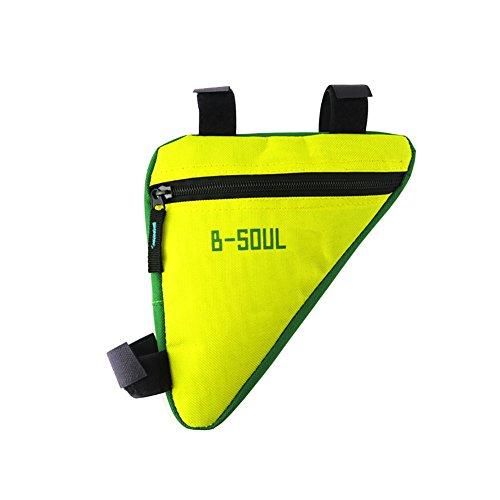 Bicycle Triangle Frame Tool Bag Top Tube Belt Pouch Storage Bike Accessories Set Tool Durable Hoop & Loop (Bike Frame Set)