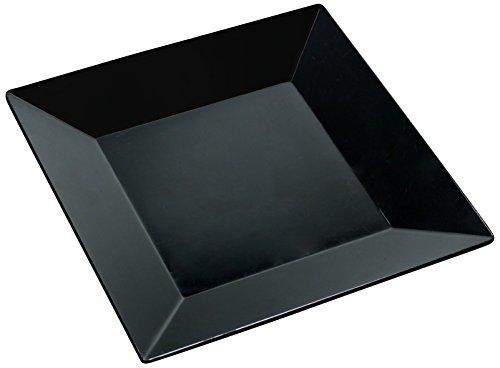 Yanco RM-110BK Rome Square Plate, 10