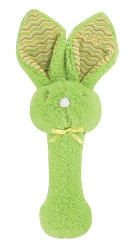 Stephan-Baby-Fuzzy-Bunnie-Rattle-Green
