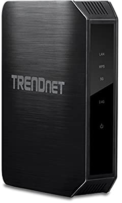 TRENDnet AC1200 Dual Band Wireless Access Point, Gigabit, Concurrent, Simultaneous, Multifunction, AP, Client, Repeater (TEW-814DAP)