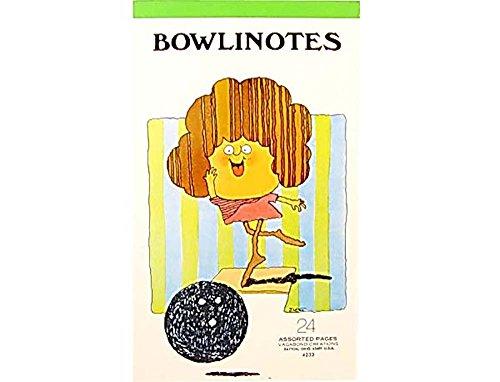 Bowling Note Pad