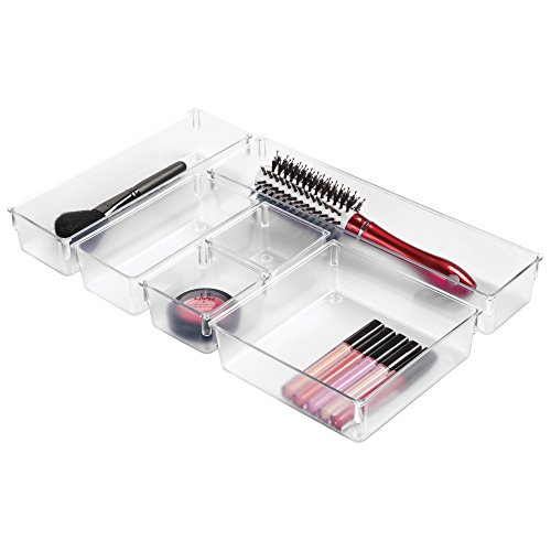 mDesign Cosmetic Organizer Bathroom Lipstick