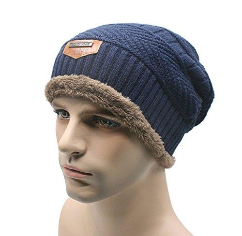 Blue Performance Knit Beanie - 3