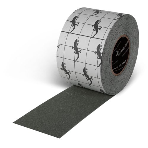 Gator Grip : SG3404GY Premium Grade High Traction Non Slip 60 Grit Indoor Outdoor Colored Anti-Slip Tape, 4 Inch x 60 Foot, Gray by Gator Grip (Image #4)