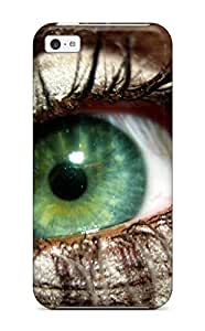 Premium Eye Back Cover Snap On Case For Iphone 5c