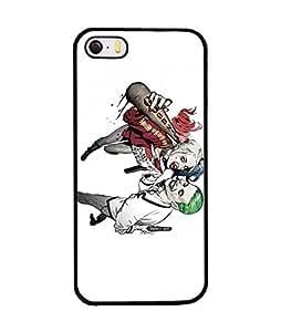 Cool DC Comics Iphone 5 / 5S Funda Case Joker And Harley [Perfect-Fit] Premium Hard Plastic Anti-Scratch Funda Case & Cover